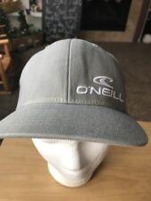 O'Neil Grey Surfing Flexfit L/XL Baseball Cap Hat