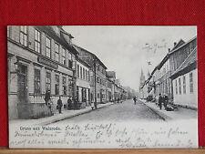 Fotokarte - Gruss aus Walsrode - links Kaiserliches Postamt - gel 1907   m1