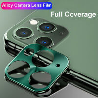 For iPhone 11 Pro Max Rear Camera Lens Protector Aluminum Ring Case Accessories