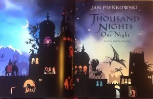 THE THOUSAND NIGHT and ONE NIGHT: Jan Pienkowski. HARDBACK 160 GLORIOUS pages!