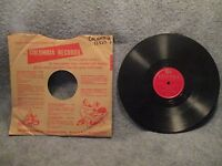 "78 RPM 10"" Record Juke Box Serenaders Sound Effects Instrumental Columbia 12327F"
