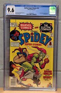 SPIDEY SUPER STORIES #23 CGC 9.6 (Jun 1977) #3756875022 - GREEN GOBLIN COVER