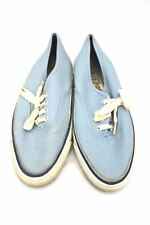 Vintage Deck Shoes Sneakers Womens 1960s Light Blue 7M Super Cushion