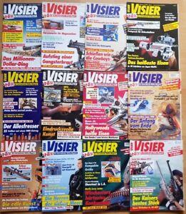 Visier 1994 komplett Waffen-Magazin Zeitschrift Pistolen Hefte Sammlung Jahrgang