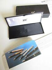 Original Montblanc Etui Box für Kugelschreiber +Karton+Kaufvertrag+Brochure !