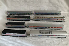 AMTRAK 3 LOCOS & 5 CARRIAGES BUNDLE Mostly Bachman + Life-Like +? Need Some TLC