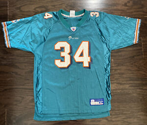 Reebok Ricky Williams #34 Miami Dolphins NFL Football Jersey Youth Size XL