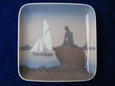Bing & Grondahl Little Mermaid Den Lille Havfrue Pin Dish 1970's Fine Porcelain