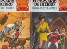 EL CORSARIO DE HIERRO:GRANDES AVENTURAS JUVENILES.SERIE ROJA Nºs.69.72 (2 NºS )