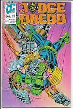 Quality Comics - Judge Dredd - #19 1988