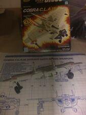 Vintage 1984 GI Joe ARAH Cobra w/ box & blueprints