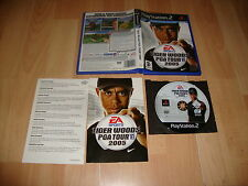 TIGER WOODS PGA TOUR 2005 DE EA SPORTS PARA LA SONY PS2 USADO COMPLETO