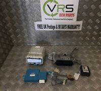 06 09 TOYOTA YARIS 1.0 12V PETROL 70BHP 0261208932 ECU LOCK SET REF HX984 #5026