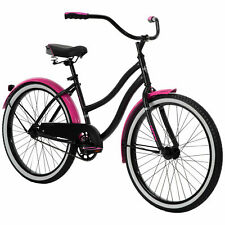 Huffy 24 inch Cranbrook Girls Cruiser Bike - Black