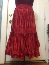 Pile Ou Face Red Skirt Unique Size Made In France Make Offer