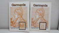 Germania 1996, No. 1 & 3, Journal Germany & Colonies Philatelic Society