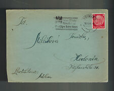 1941 Germany Buchenwald Concentration Camp Cover Miklik Frantisek to Hodonin KZ