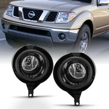 For 05-16 Nissan Frontier Replacement Bumper Fog Light Driving Lamp With Switch