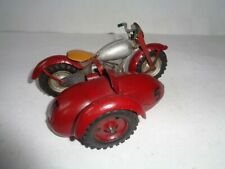 Drukov Motorcycle with Sidecar (wind-up)