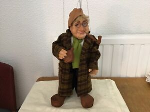 Vintage marionette/string puppet 16.5 inches high German origin