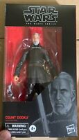 Star Wars The Black Series Count Dooku 107 6-Inch Action Figure New In Hand Mint