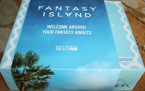 FANTASY ISLAND FUNBOY Private Jet Plane Float -NEW IN BOX**BOARDING TICKET