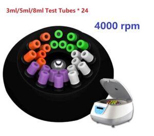 PRP Centrifuge Medical Blood Plasma Serological Centrifuge 4000 rpm 24*8ml Tubes