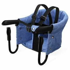 Portable Baby Highchair Foldable Feeding Chair Seat Booster Safety Belt Dinning