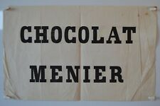Affiche originale Chocolat Menier