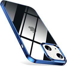 Coque Housse TPU Chromé iPhone 13 Pro Max 13 mini 12 11 Pro XS XR 8 Plus 7 6s