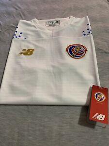 New Balance 2019 Costa Rica Away Jersey- White Medium