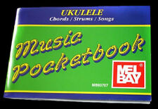 MEL BAY MUSIC POCKETBOOK UKULELE SONG BOOK w CHORDS ETC