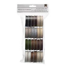 American Crafts Premium Ribbon Pack - Natural Jute, Hemp & Baker's Twine 366306