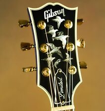 Gibson Doves in Flight Viper Blue Custom Acoustic Guitar
