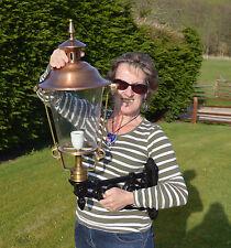 """Cast Iron & Copper 31"""" Wall Lamp / Lantern Victorian style (E65LC)"""