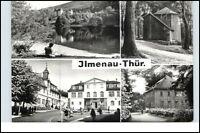 DDR Postkarte Thüringen ILMENAU ua. Goethe-Oberschule, Jagdhaus Gabelbach uvm.