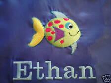 Personalised Fish Swimming/School/PE/Gym Drawstring Bag