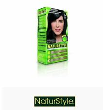 1 x NATURSTYLE Permanent Hair Colourant / Colour - BROWN BLACK 2N