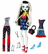 Monster High Frankie Stein i amor mode I Heart fashion OVP x4491