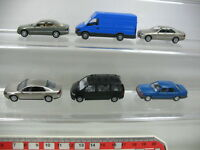 AB144-0,5# 6x Wiking H0 Modelle: Mercedes-Benz MB, Volkswagen VW, Iveco, TOP