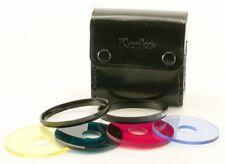 Kenko Filter Color Circle 4-fach Set mit Tasche 49 mm