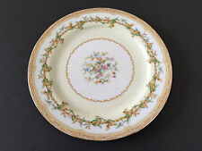 "Noritake China Olympia 680 Yellow / Green Leaves Vine, Floral - 10"" DINNER PLATE"