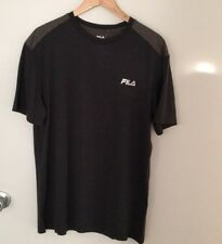 NEW FILA T-SHIRT GRAY FOR MEN SIZE M NEW WITH TAG