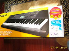 Casio CTK-2080 Keyboard Synth Lesson System works perfectly Mint In Box w/chords