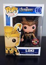 Loki Funko Pop SDCC 2012 #16 Only 480 Made Very Rare