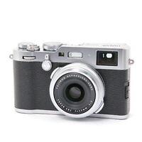FUJIFILM Fuji X100F Silver shutter count 2200 shots
