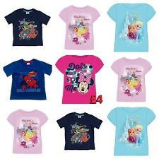 New listing New Kid's Children's Boys/Girls Disney Character Short Sleeve Casual T Shirts
