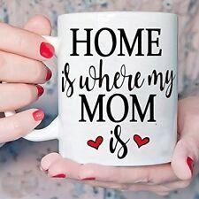 Los regalos inspirados para la mama taza El hogar es donde esta mi mama - 12 ...
