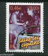 FRANCE 2001, timbre 3375 Communication La radio, SALUT LES COPAINS, neuf**