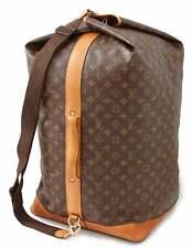 Louis Vuitton Sac Marin Sailor Bandouliere GM Holdall Duffle Monogram Canvas Bag